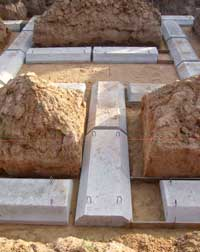 фундаментные плиты ФЛ