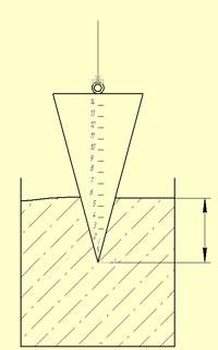 измерение подвижности раствора для кладки