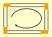 направление кладки блоков на клей
